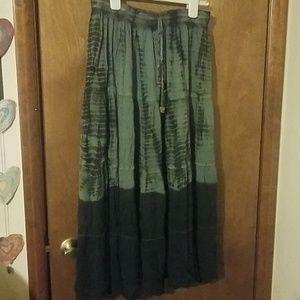 Surrale BOHO Skirt Tie Dyed  L